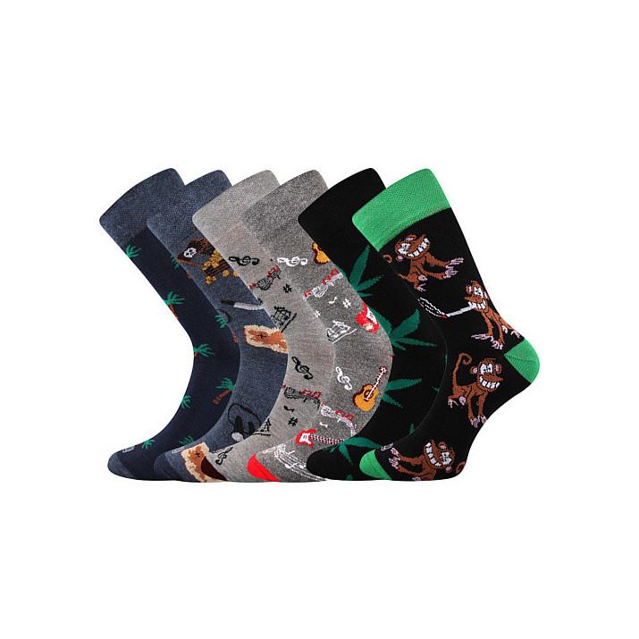 Ponožky Doble mix F 3 páry