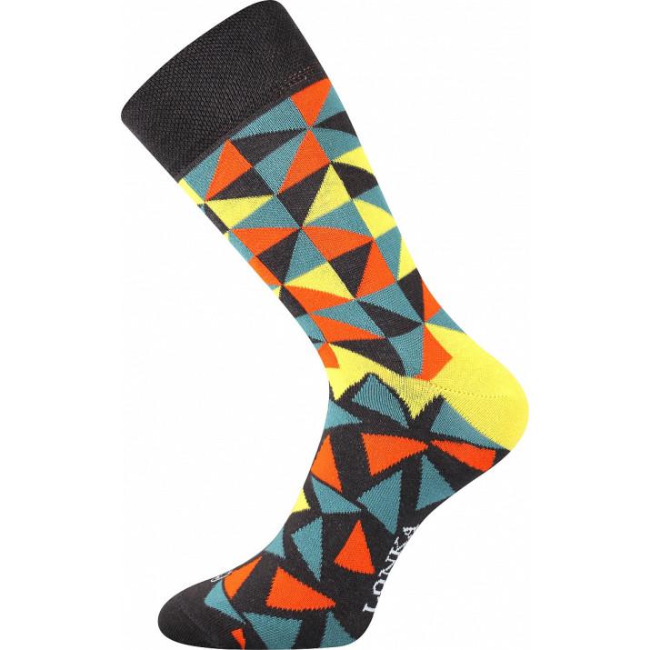 Barevné ponožky Woodoo L