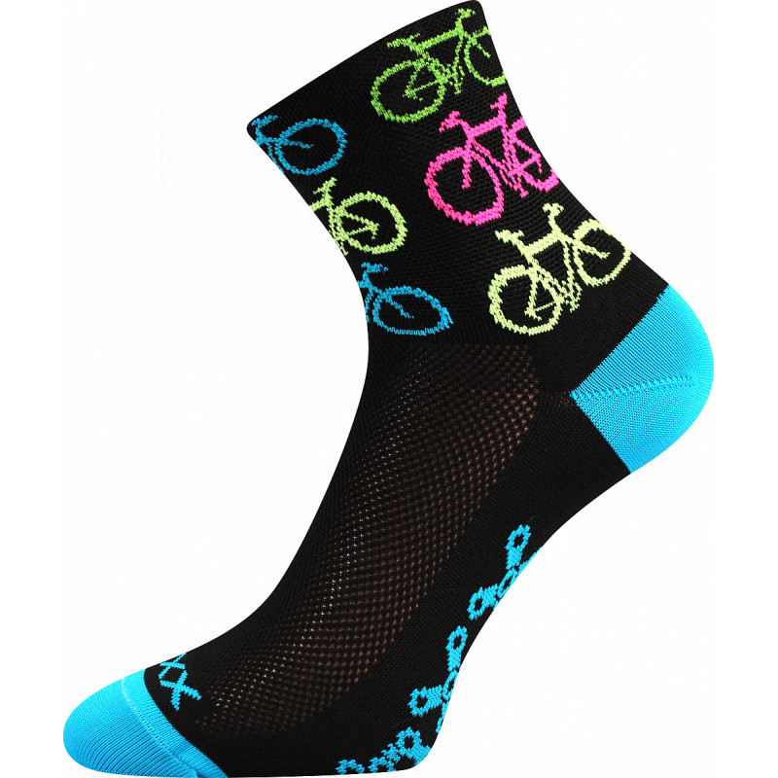 Ponožky Ralfi bike/černé