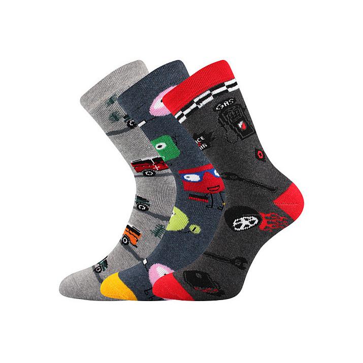 Ponožky Sibiř dětské 3 páry