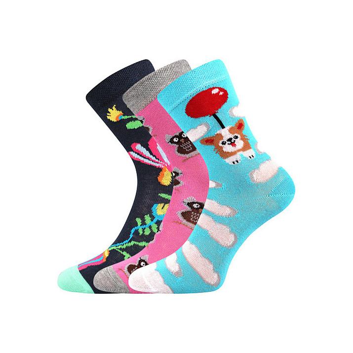 Ponožky holka mix A dětské...