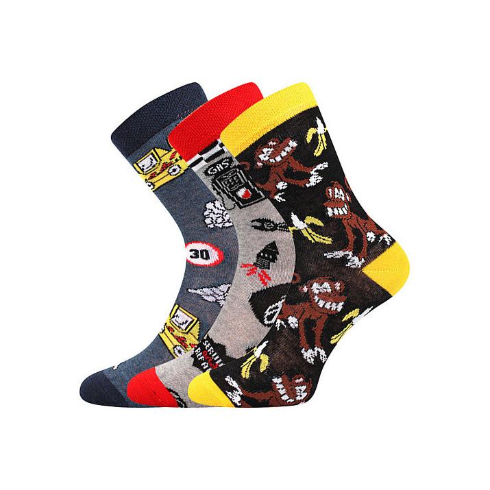 Ponožky kluk mix A dětské 3...