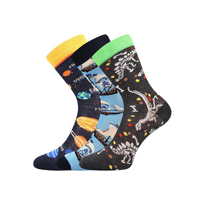 Ponožky kluk mix B dětské 3...