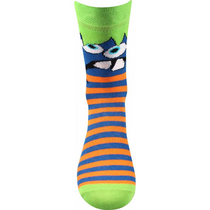 Barevné ponožky Ksichtík...