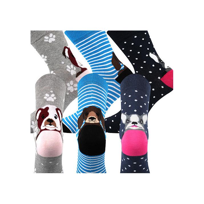 barevné ponožky Xantipa mix...