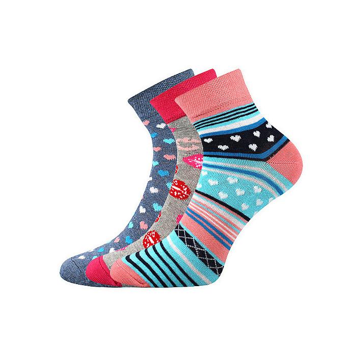 barevné ponožky Jana L 3 páry