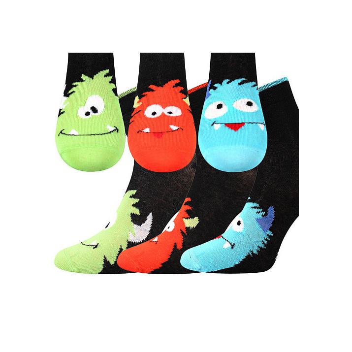 barevné ponožky Bubu 3 páry