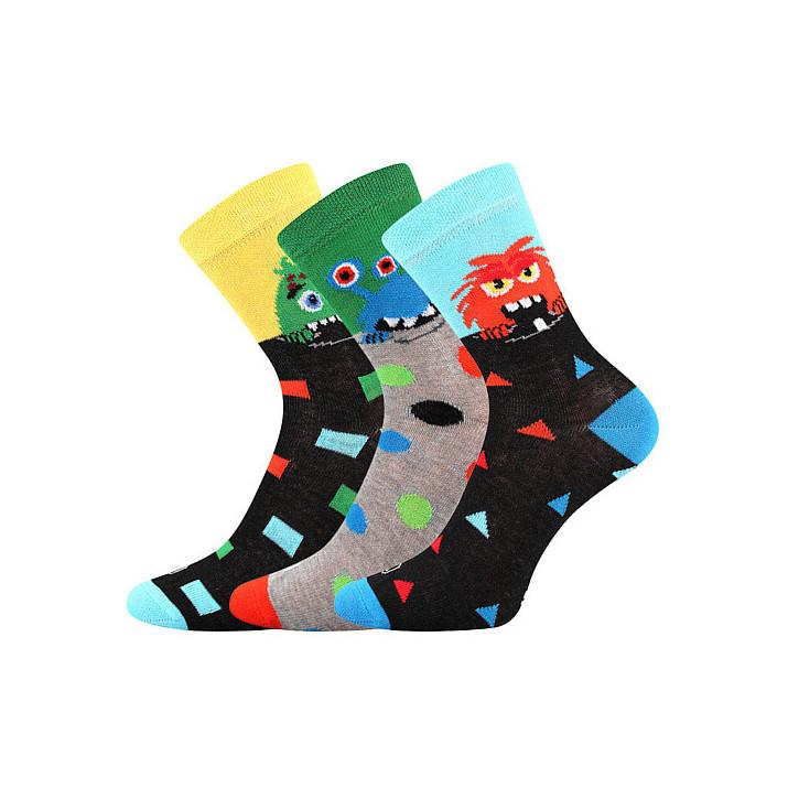 Barevné dětské ponožky kluk...