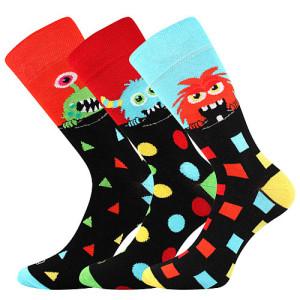 Barevné ponožky Ufon 3 páry