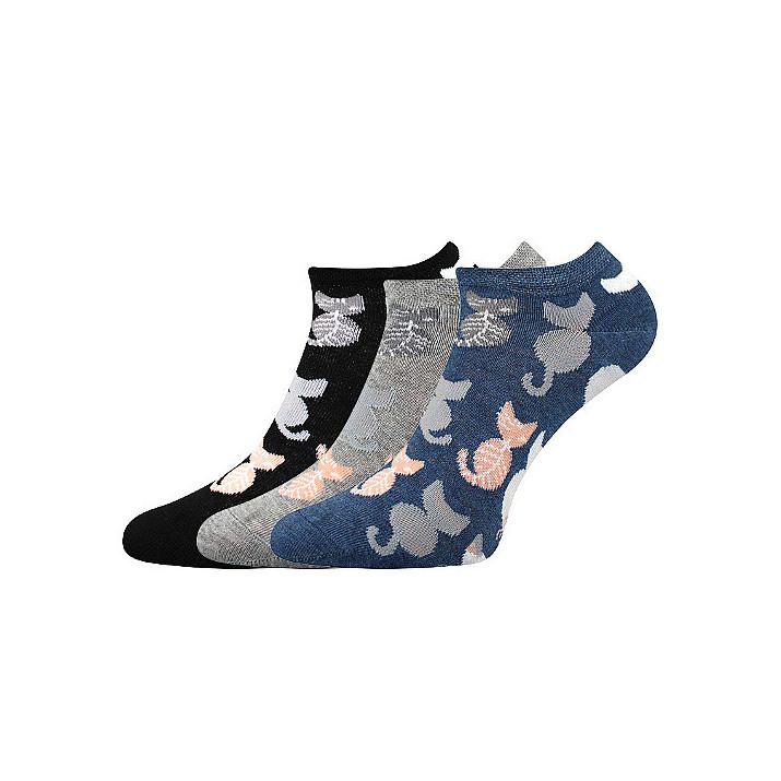 barevné ponožky Piki 54 mix...