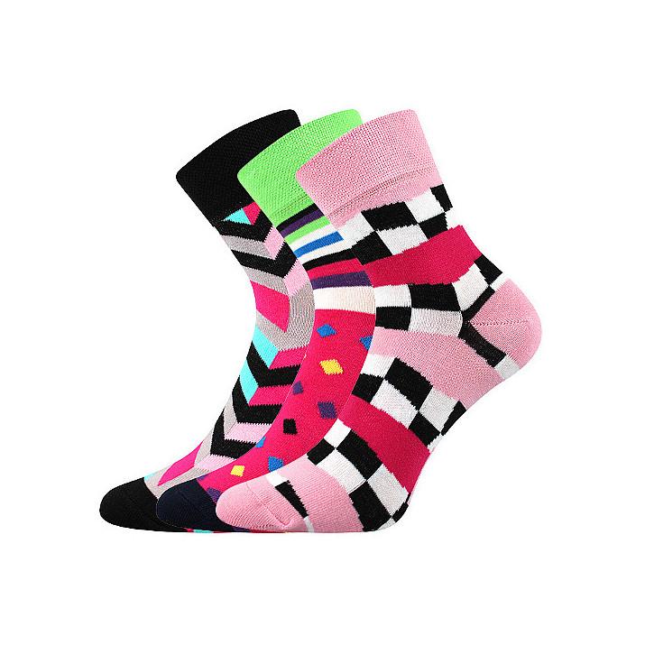 Barevné ponožky 56 Ivana  3...