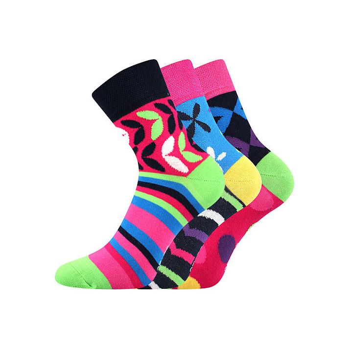 Barevné ponožky 57 Ivana  3...