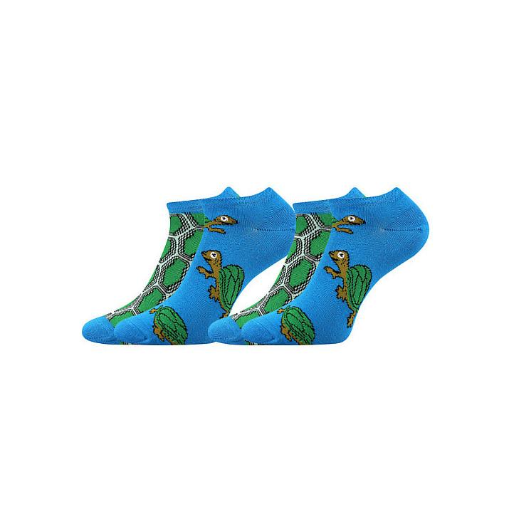 Barevné ponožky Duo  želva...