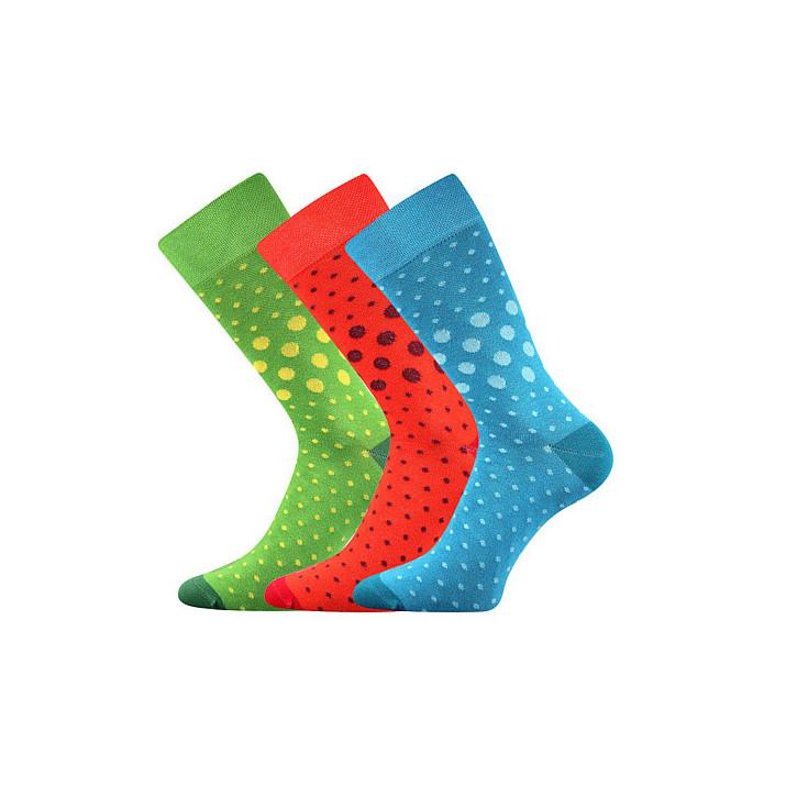 Ponožky Wearel puntíky 3 páry