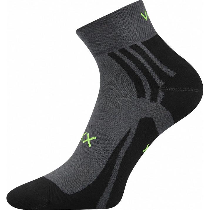 Ponožky Abra tm. šedé