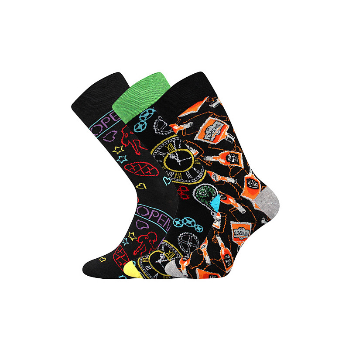 Barevné ponožky Debox mix 3...