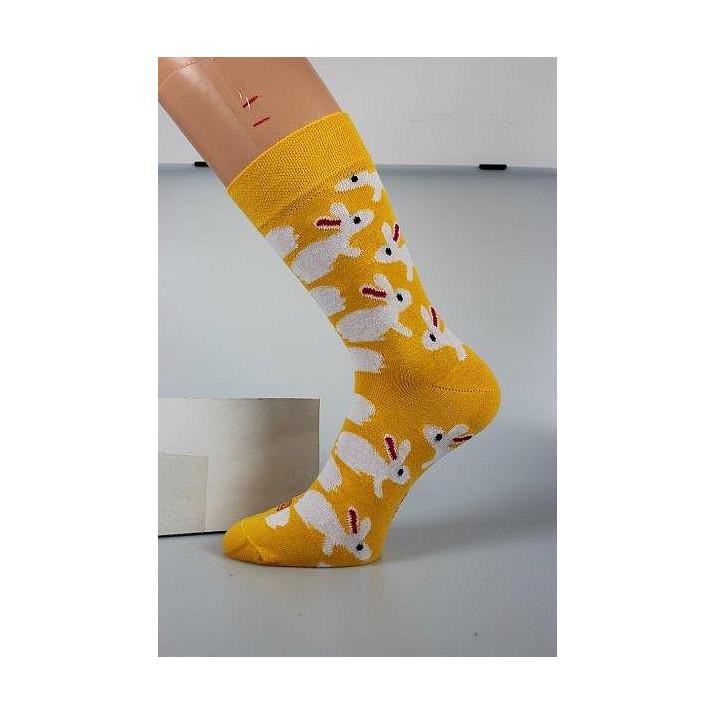 Barevné ponožky Woodoo...