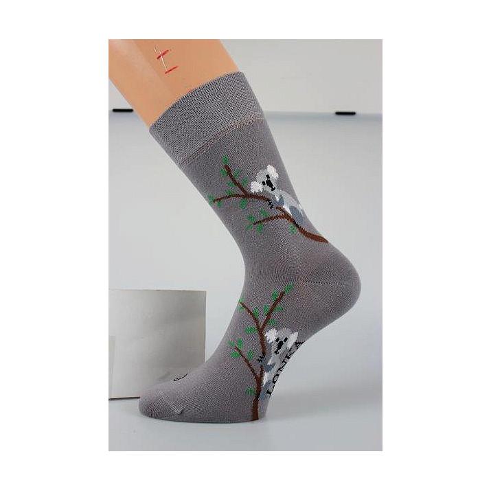 3 páry barevné ponožky kůň,...