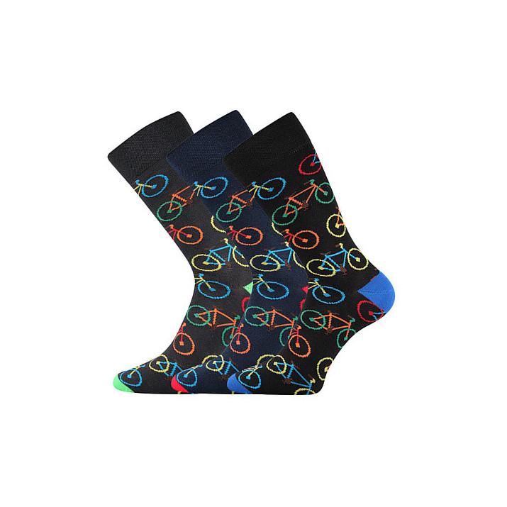 Ponožky barevné Wearel bike...