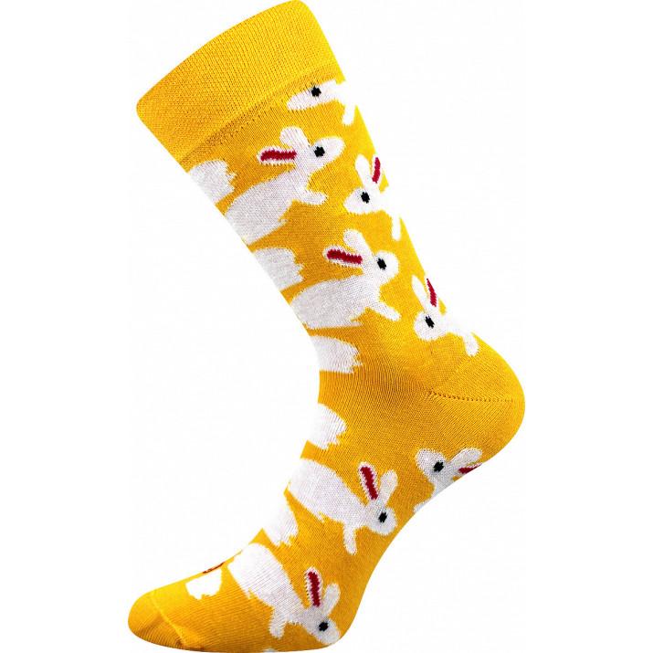 Barevné ponožky králíčci