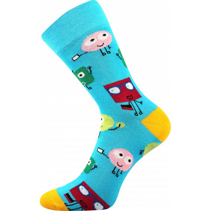 Barevné ponožky obludy