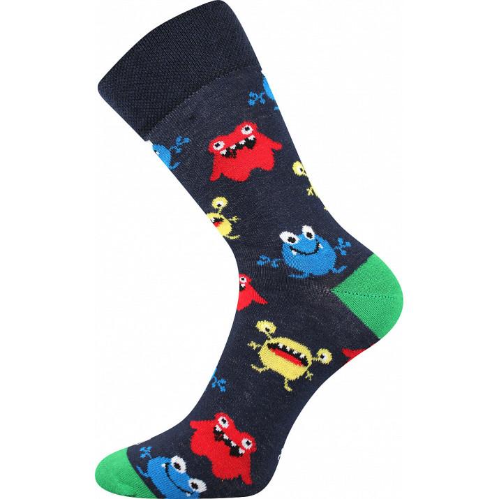 Barevné ponožky příšerky
