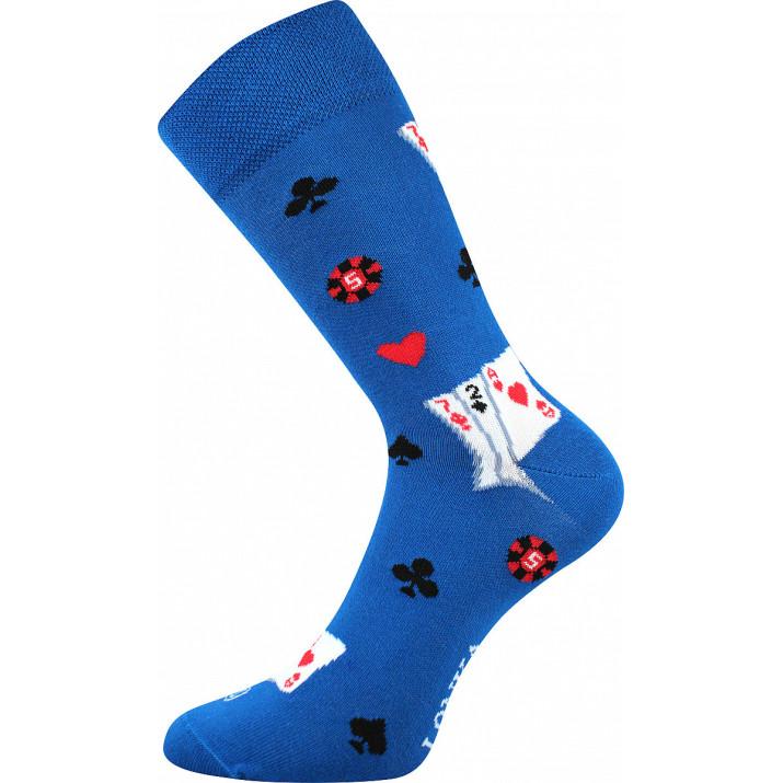 Barevné ponožky karty