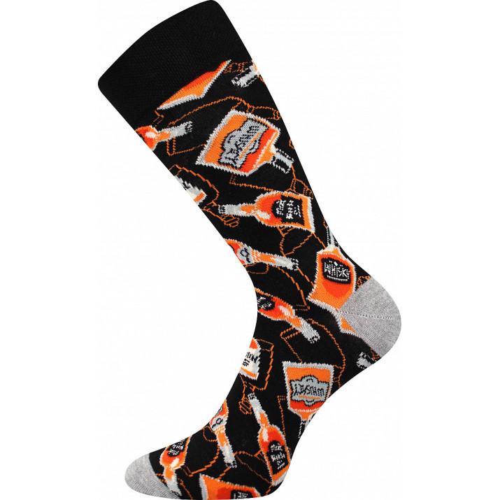 Barevné ponožky kořalka