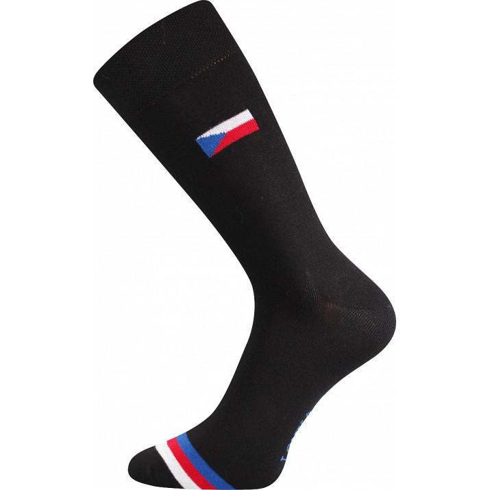 Barevné ponožky s vlajkami...