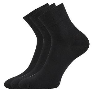 Ponožky Emi černé 3 páry
