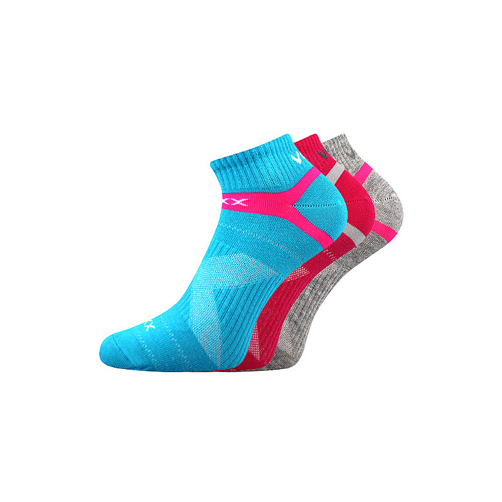 Barevné ponožky Rex mix B 3...