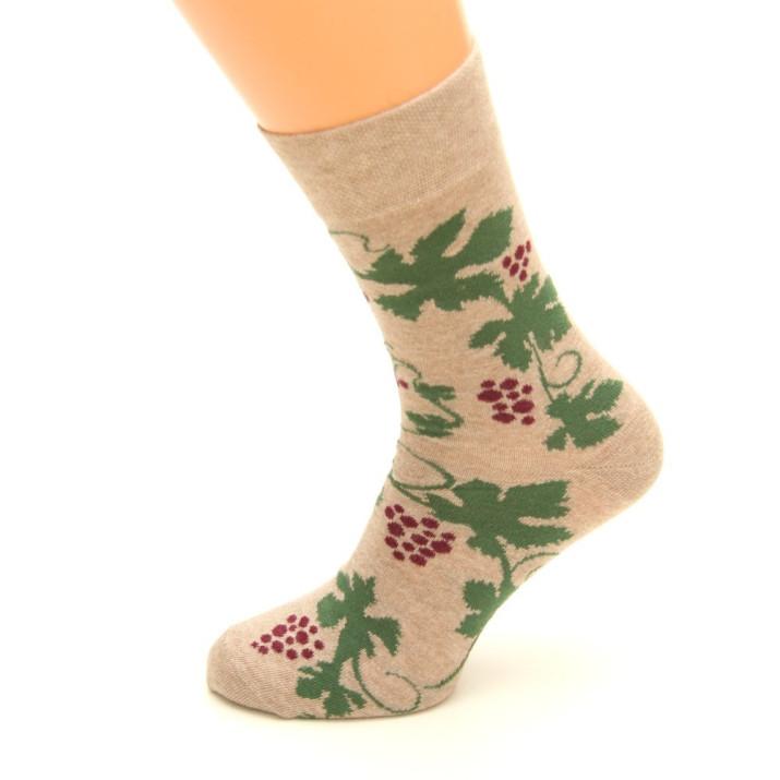 Barevné ponožky Víno 1 pár