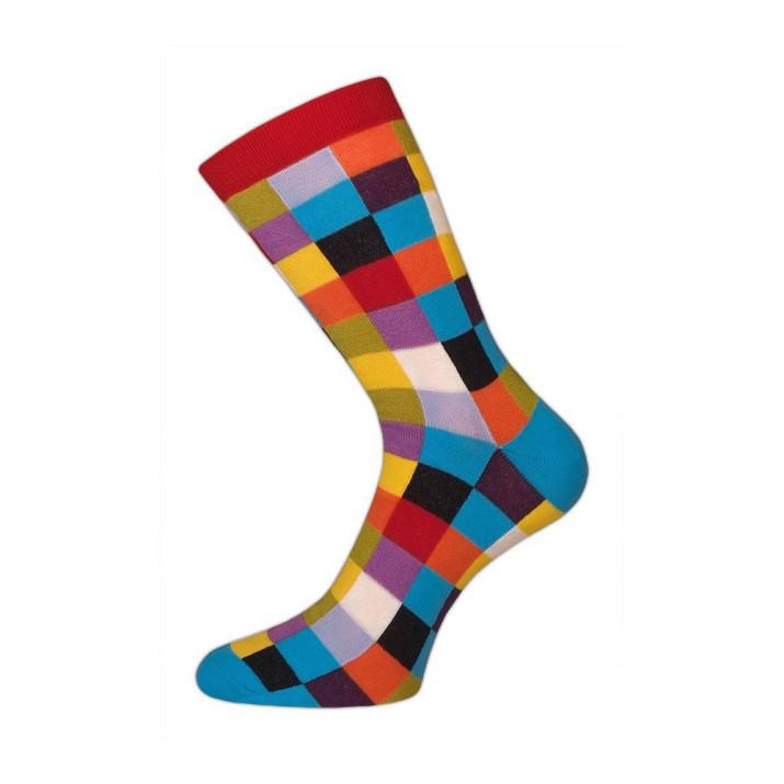 Barevné ponožky kostka X 1 pár