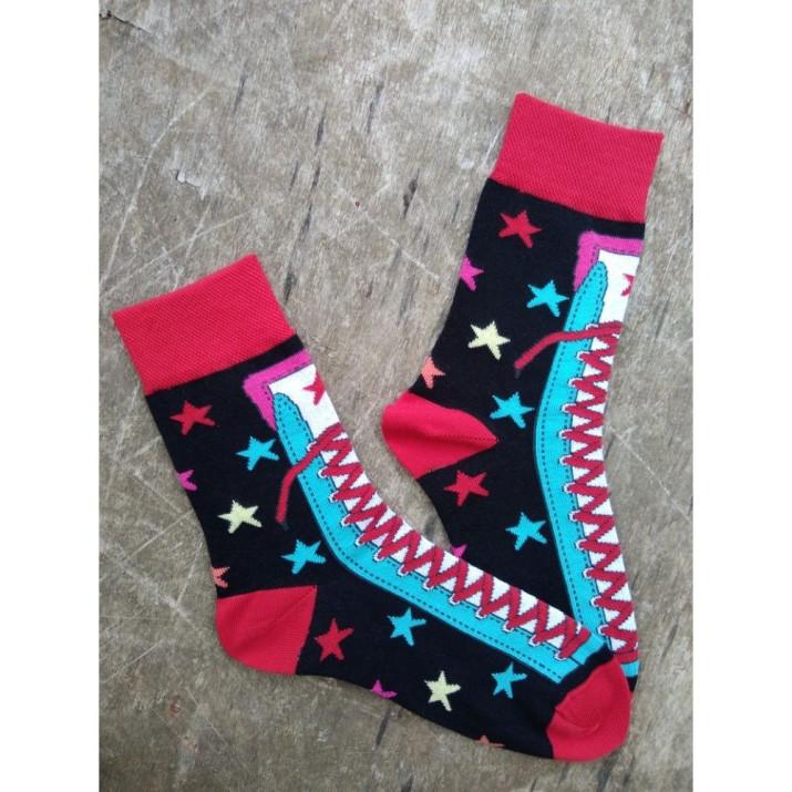 Barevné ponožky Crazy 1 pár