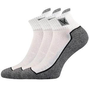 Ponožky Nesty bílé 3 páry
