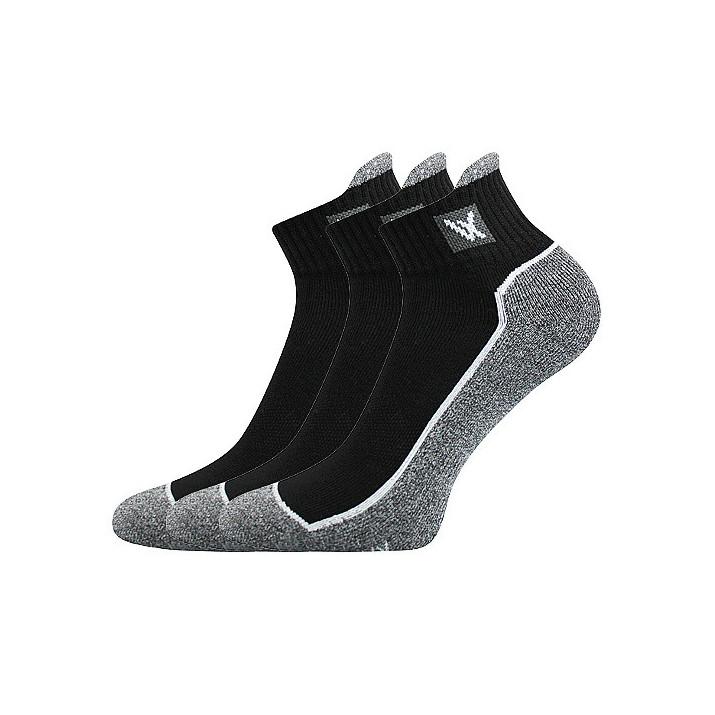 Ponožky Nesty černé 3 páry