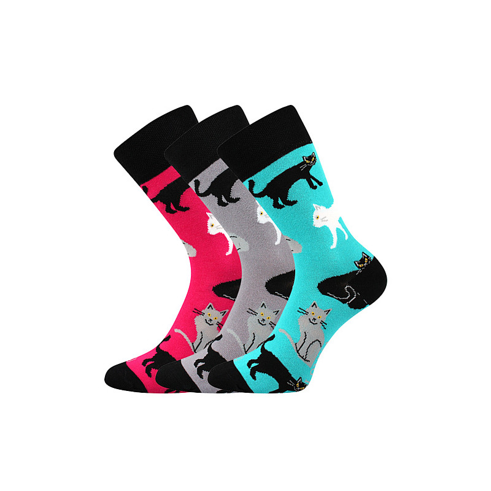 Barevné ponožky Woodoo mix D1