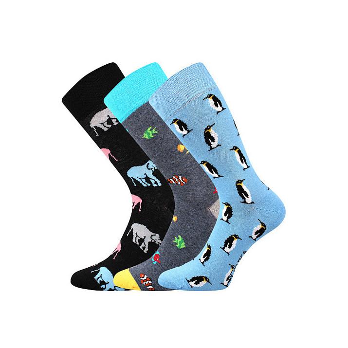 Barevné ponožky Woodoo mix C1