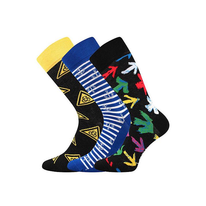Barevné ponožky Woodoo B1