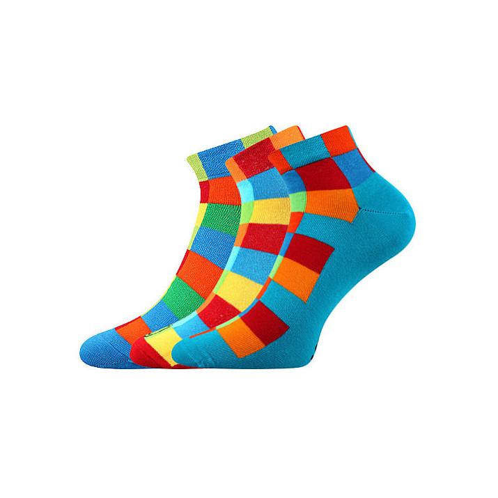 Barevné ponožky Becube...