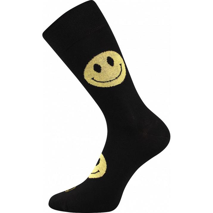 Barevné ponožky smajlík