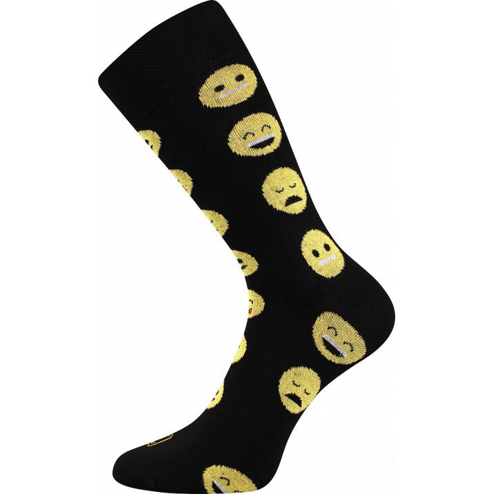 Barevné ponožky smajlíci