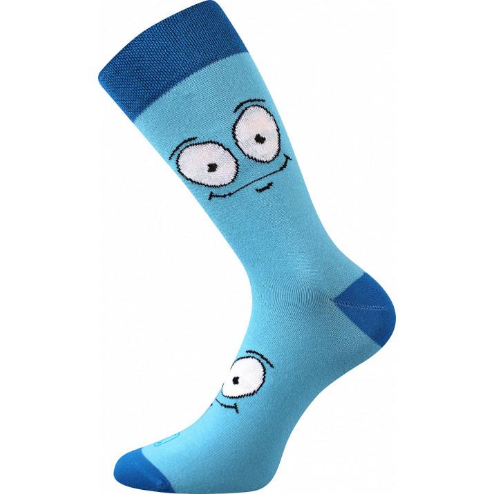Barevné ponožky oči modré