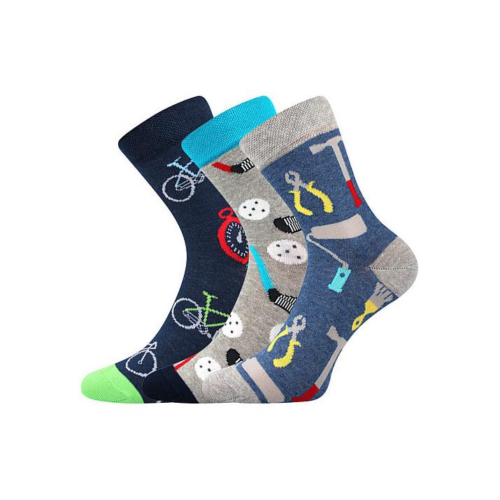 Ponožky kluk mix C dětské 3...