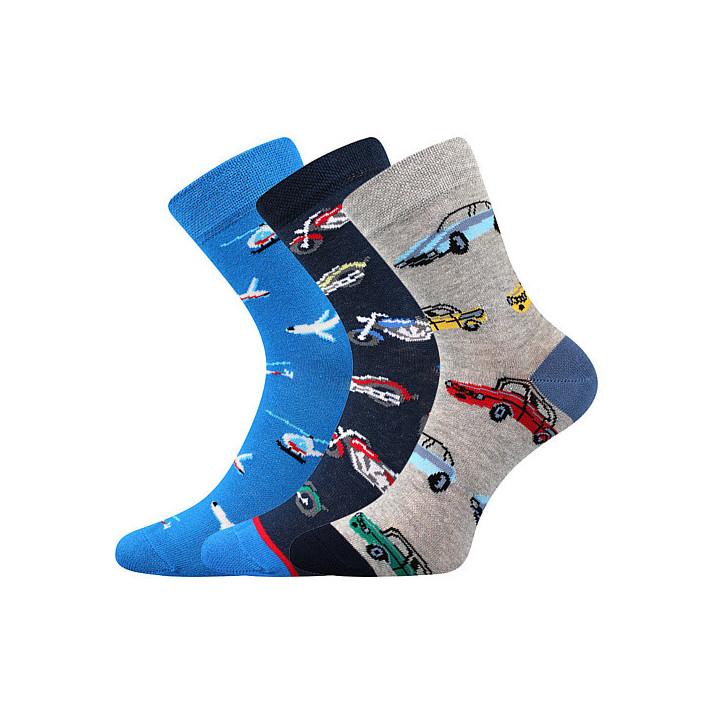 Ponožky kluk mix X dětské 3...