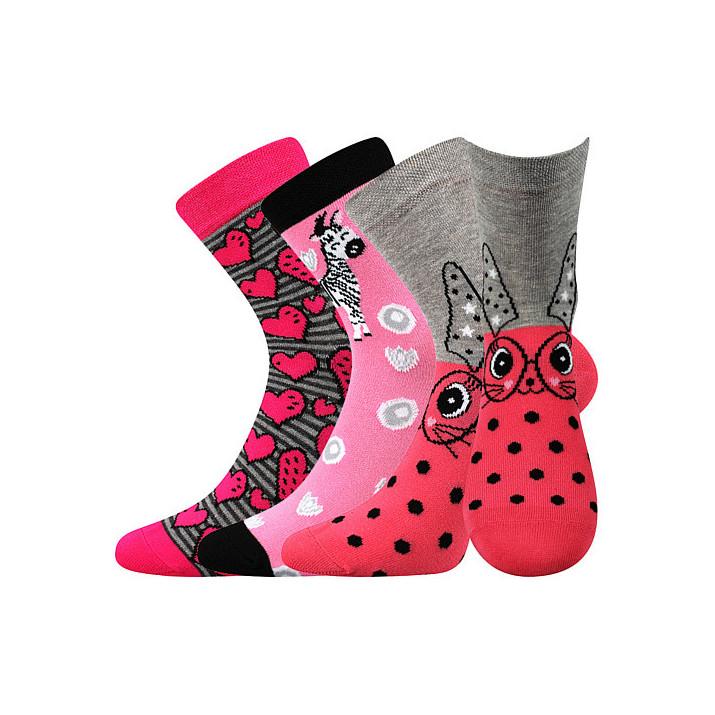 Ponožky holka mix X dětské...