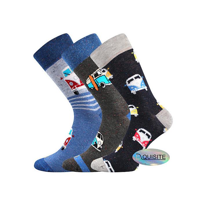 Barevné ponožky Harry  3 páry