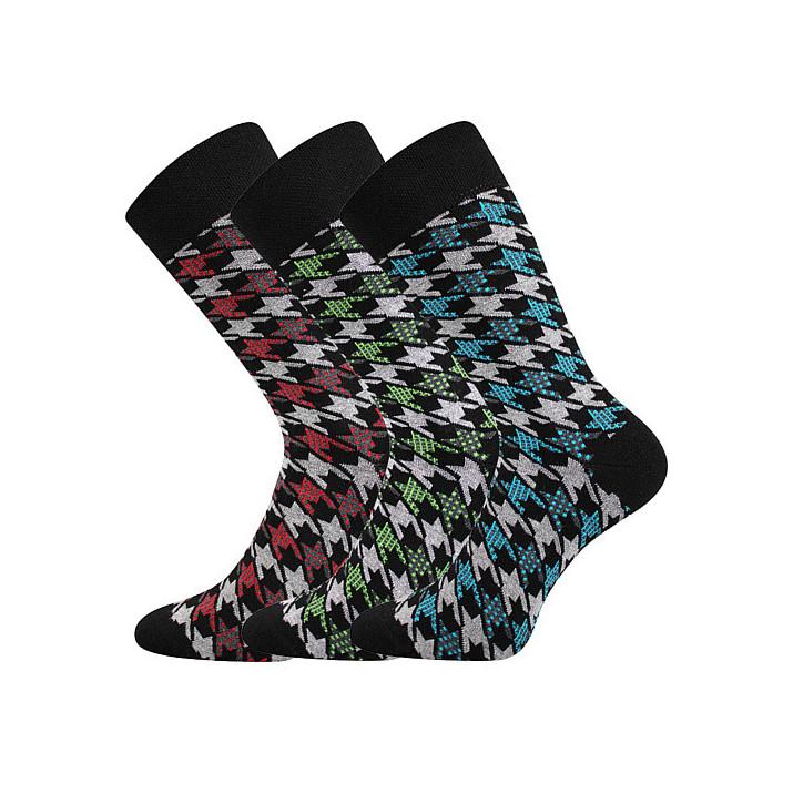 Barevné ponožky Dikarus...