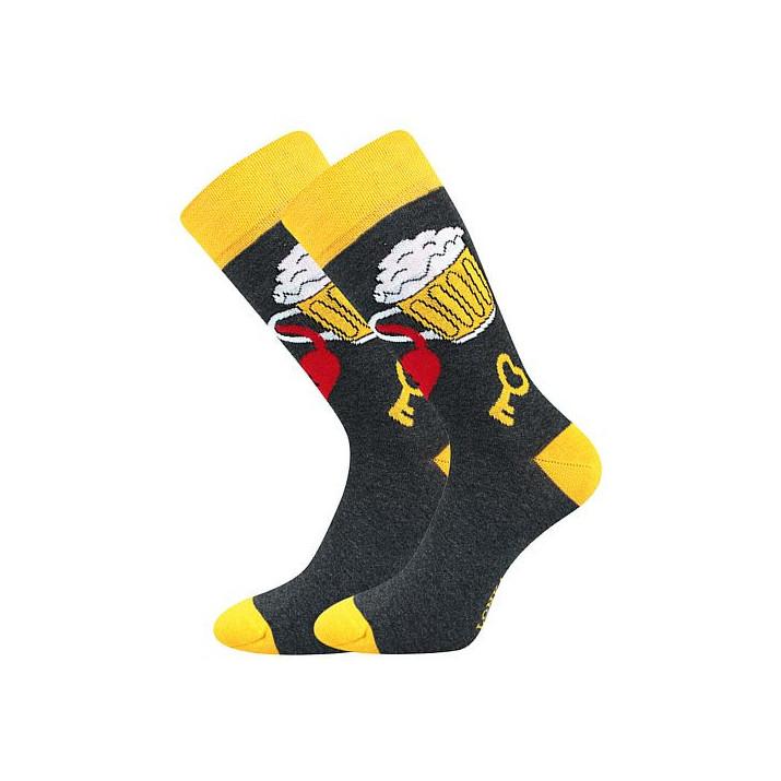 Barevné ponožky Depate pivo...