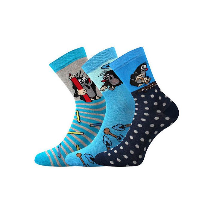 Barevné ponožky Krtek -...